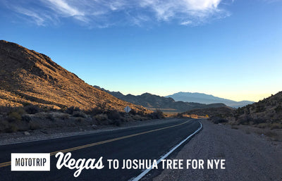 Motorcycle Trip: Vegas to Joshua Tree For NYE