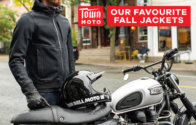 Town Moto's Top Fall Motorcycle Jackets