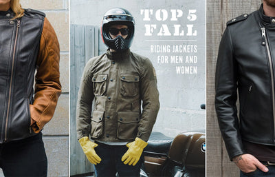 Town Moto's Top Fall Riding Jackets for Men and Women