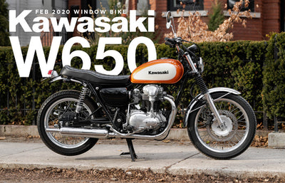 2001 Kawasaki W650 | February 2020 Window Bike