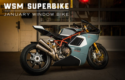 Walt Siegl SBK #1 | January 2019 Window Bike