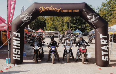 Lawrence Hacking's Overland Adventure Rally, 2014