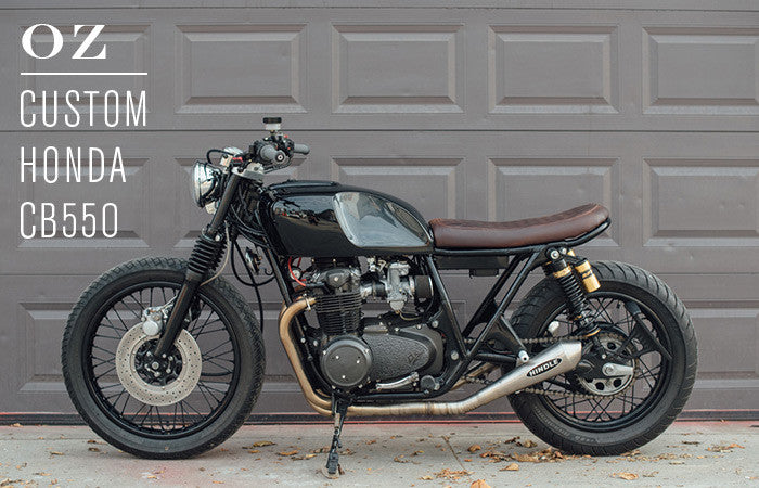 Honda CB550 - OZ by Ripple Rock Racers