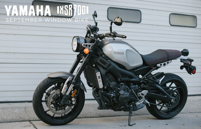 Yamaha XSR900 Window Bike