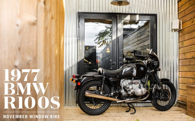 1977 BMW R100S | November 2019 Window Bike