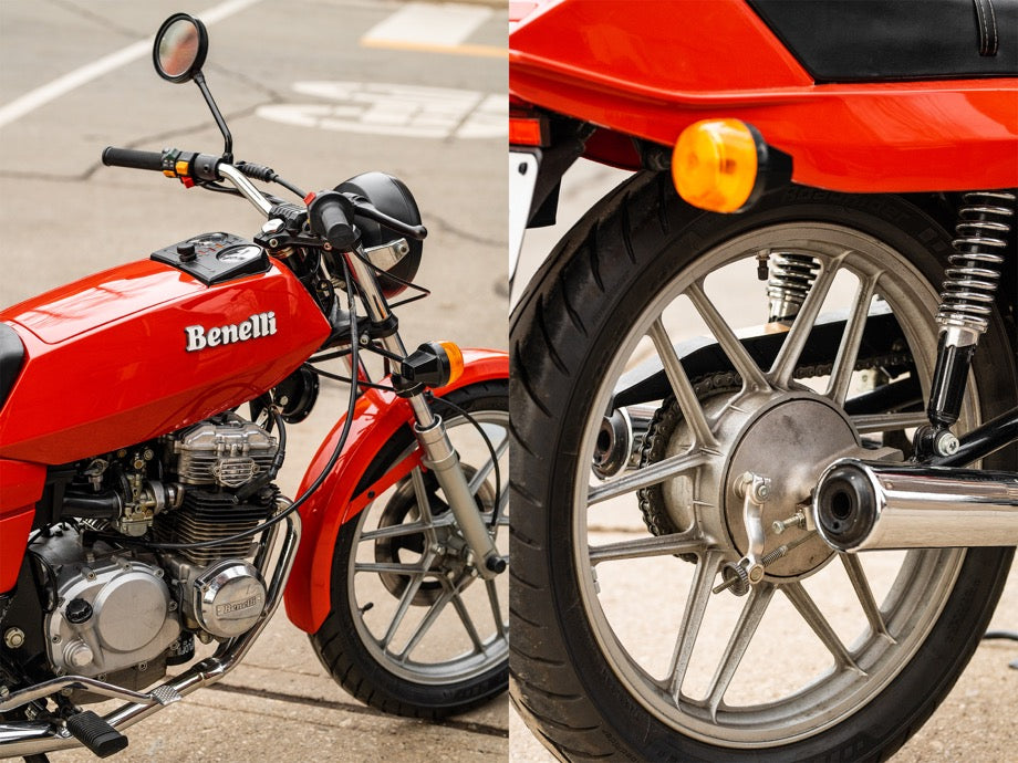 1981 Benelli 250 Quattro | January 2019 Window Bike