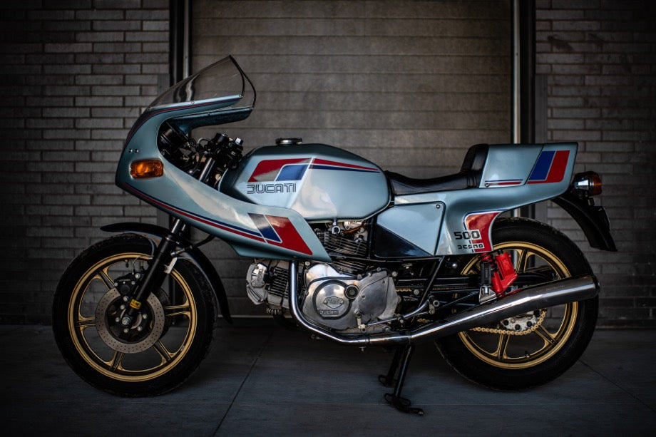 1981 Ducati 500 Pantah April 2019 Window Bike