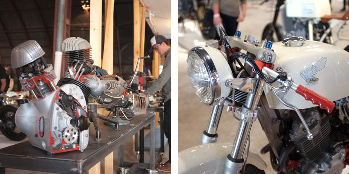 The 1 Moto Show - Austin, TX - Revival's Engine Display, XR400 by See See Motorcycles