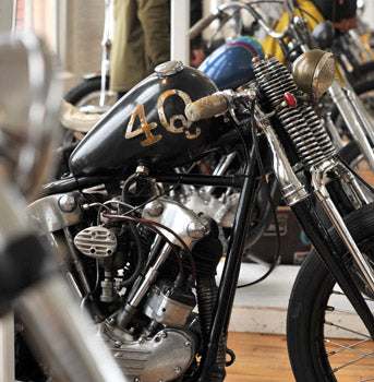 The 1 Moto Show - Portland, OR Knucklehead by Max Schaff