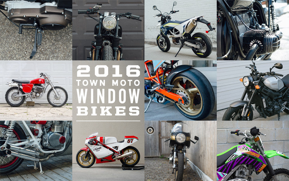 2016 Town Moto Window Bikes