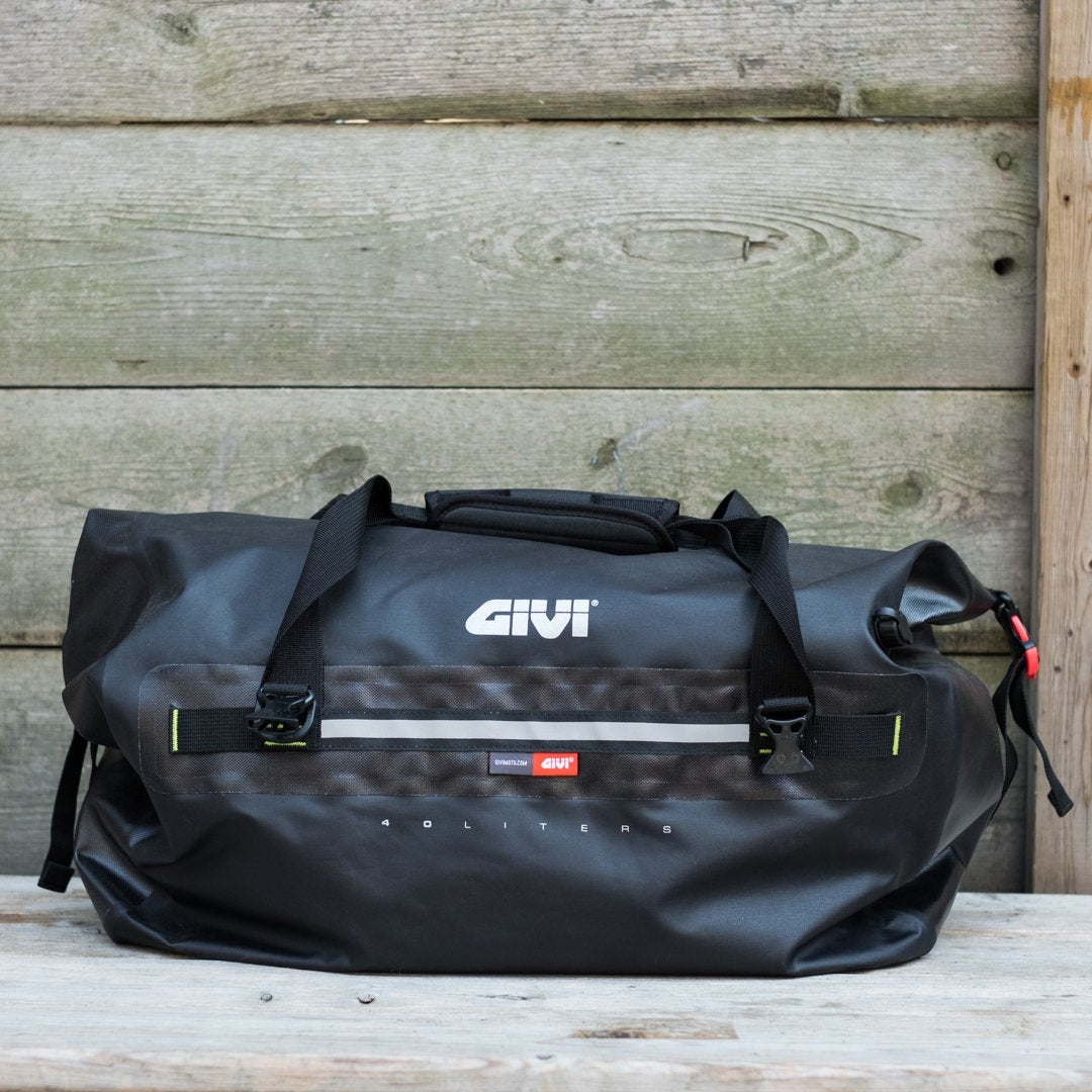 Givi Gravel-T Roll Top Motorcycle Tail Bag