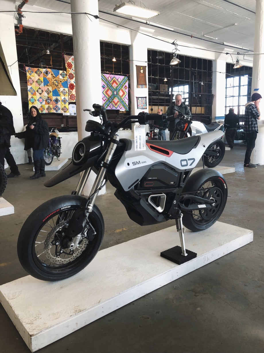 Huge Design SF collaboration with Zero motorcycles