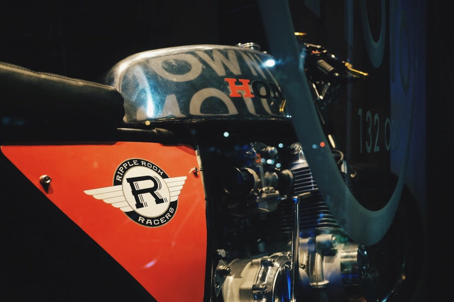 RIPPLE ROCK RACERS 1969 HONDA CB750 - AUGUST 2017 WINDOW BIKE