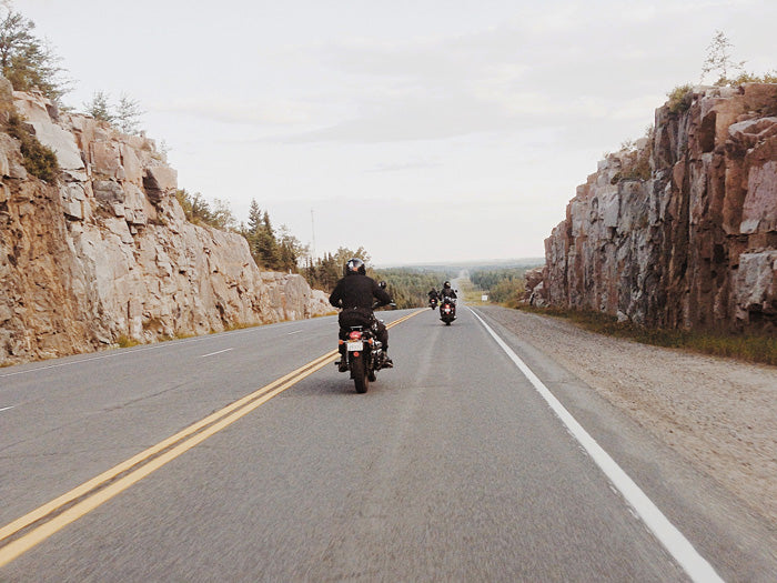 Riding East on Highway 17 towards Thunder Bay
