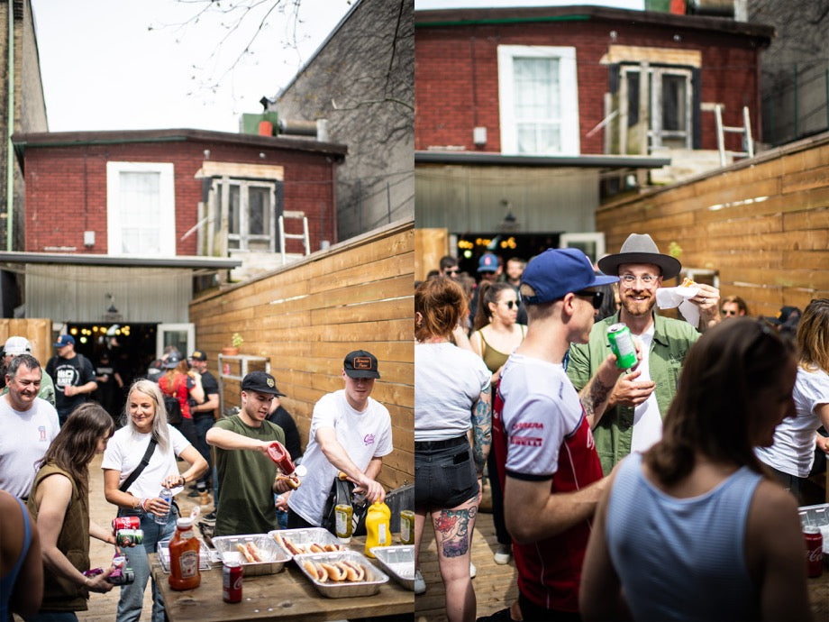Town Moto Ride-In May 2019 - Backdeck BBQ at 132 Ossington