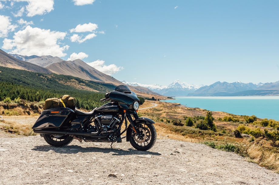 The Moto Social - Riding through New Zeland on Harley Davidson Motorcycles