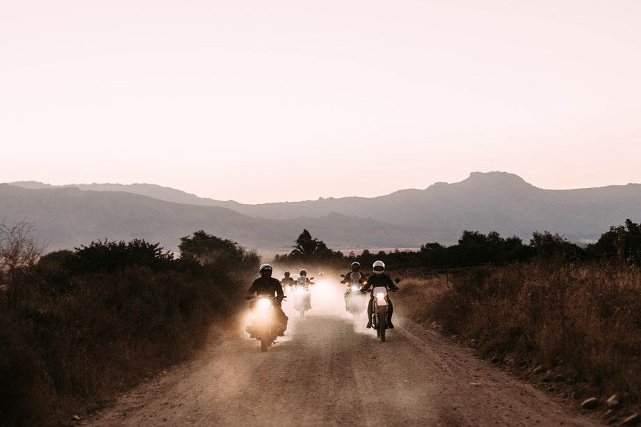 Riding motorcycles in South Africa with the Moto Social