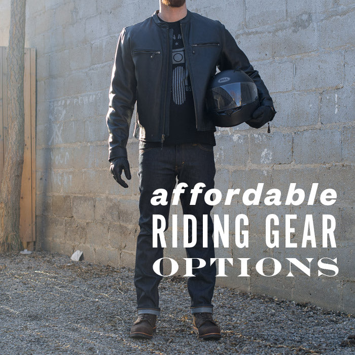 affordable riding gear options