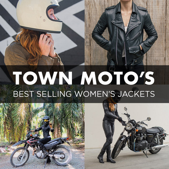 Best Selling Women's Jackets at Town Moto