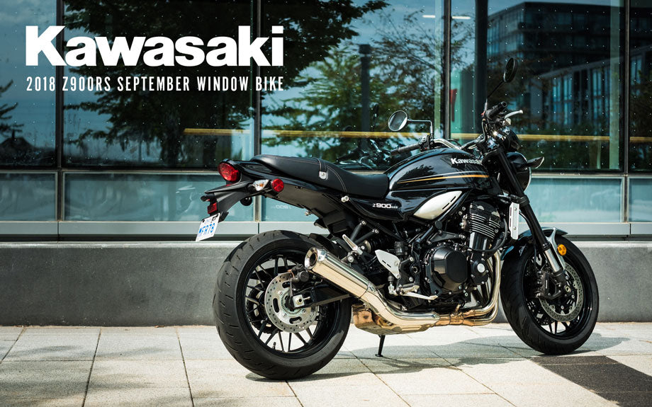 2018 Z900RS Kawasaki Window Bike at Town Moto