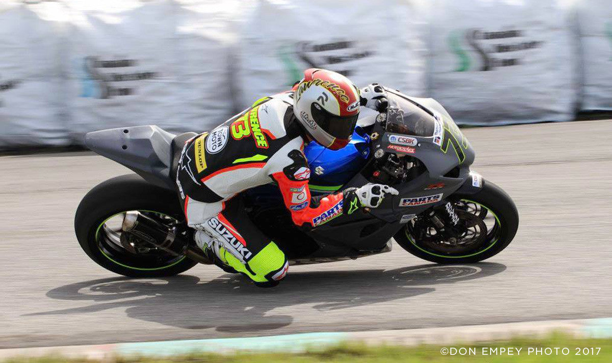 Doug Lawrence racing at Round 1 CSBK at Shannonville Motorsports Park