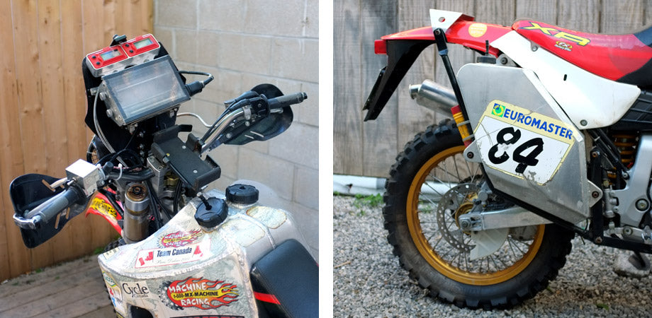 Lawrence Hacking's XR650R - May 2013 Window Bike – TOWN MOTO
