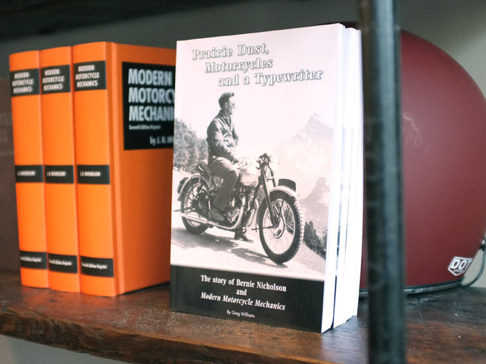 Prairie Dust, Motorcycles, and a Typewriter