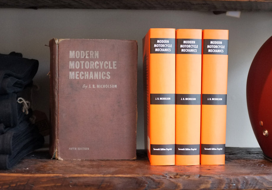 Buy Modern Motorcycle Mechanics book by J.B.Nicholson at Town Moto