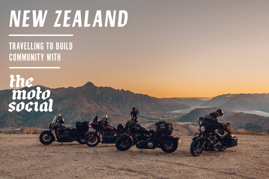 New Zealand - Travelling to Build Community with the Motosocial