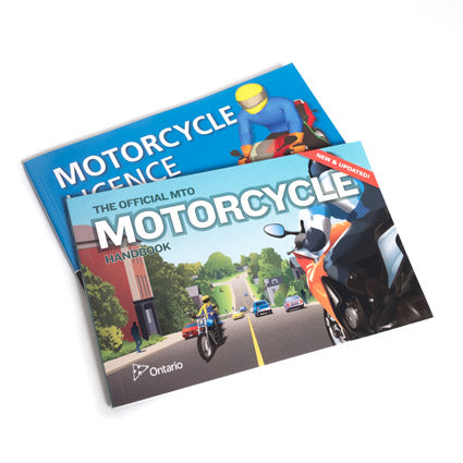 MTO Motorcycle Handbook - Great gift for the Ontarian you know who wants to learn to ride!