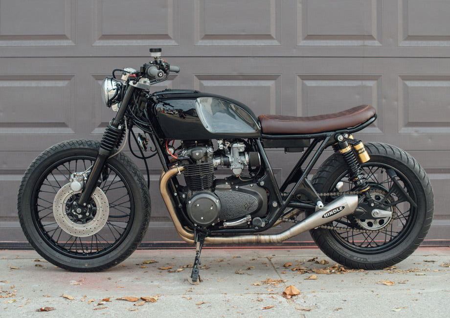 OZ Honda CB550 Brat by Ripple Rock Racers