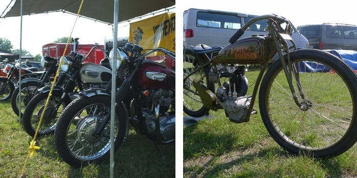Paris CVMG Rally 2013 - Triumphs / Harley Board Tracker