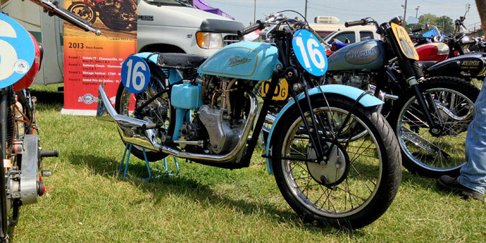 Paris CVMG Rally 2013 - Velocette