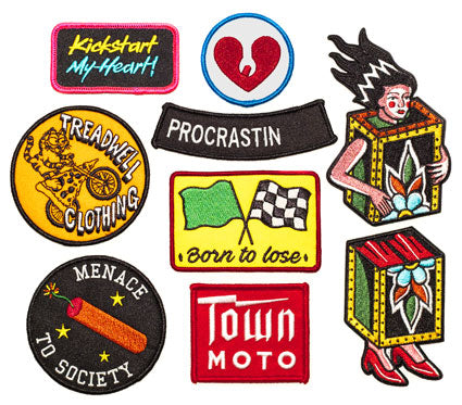 Sweet patches at Town Moto