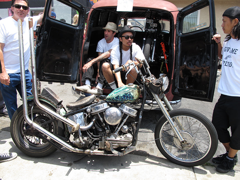 Mark Drew's Panhead - such a big influence on me, one of my all time favorite builders and bike