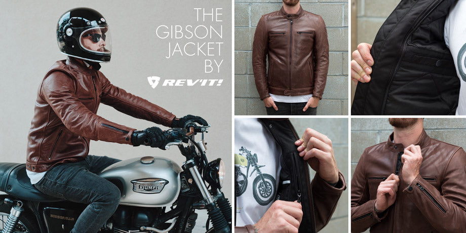 Town Moto Top 5 Fall Riding Jackets - Rev'it! Sport Gibson Jacket