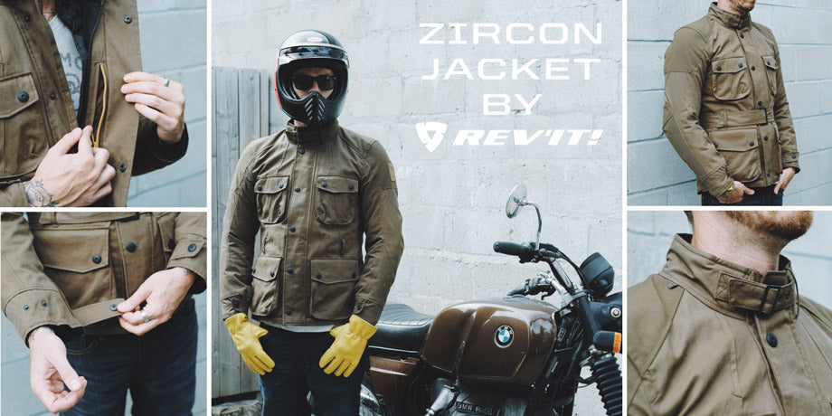 Town Moto Top 5 Fall Riding Jackets for Fall - Rev'It! Sport Zircon Jacket