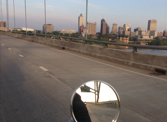 Town Moto - Toronto Bound - Mississippi River, Memphis, Tennessee