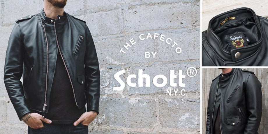 Town Moto Top 5 Fall Riding Jackets - Schott NYC Cafecto