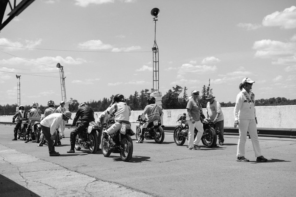 Vintage Motorcycle Road Racing at the Quinte TT