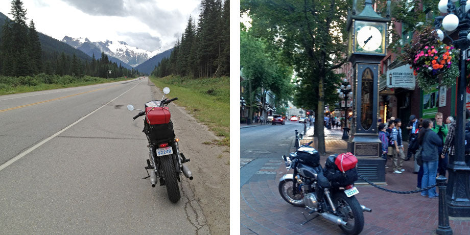 Toronto to Vancouver Motorcycle Ride - Day 4 Alberta to British Columbia