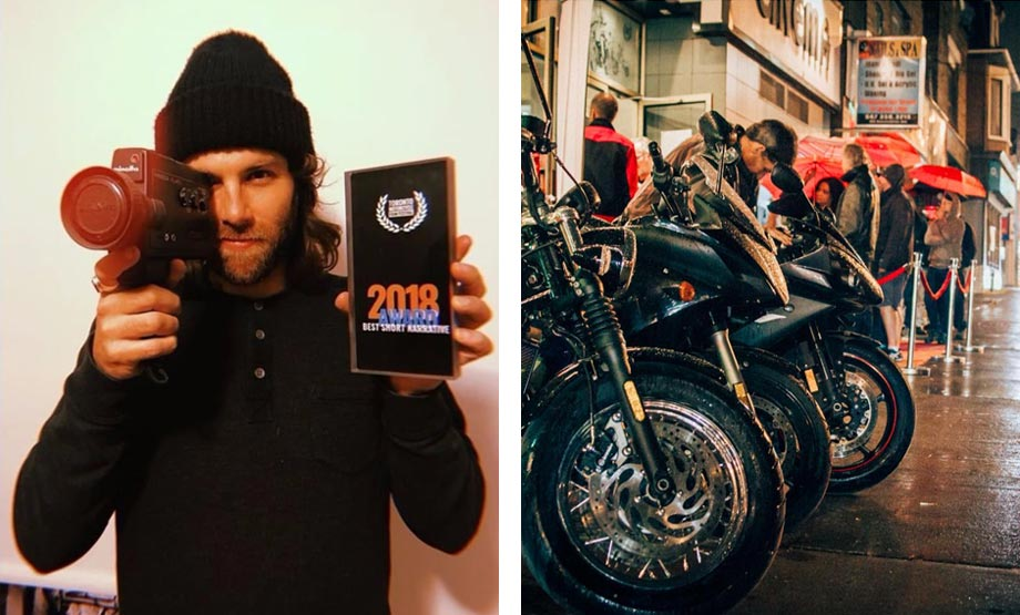Toronto Motorcycle Film Festival - candid photos from 2018