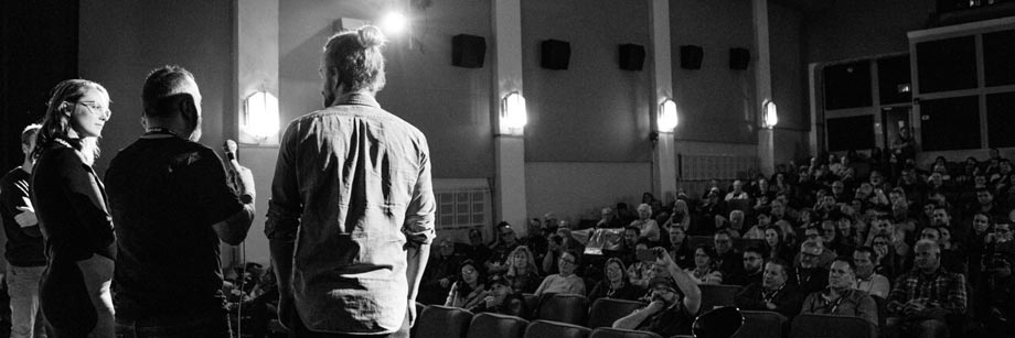 Toronto Motorcycle Film Festival - Q&A from the audience w the directors
