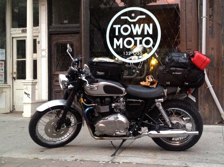 Motorcycle Ride from Toronto to Vancouver - Town Moto
