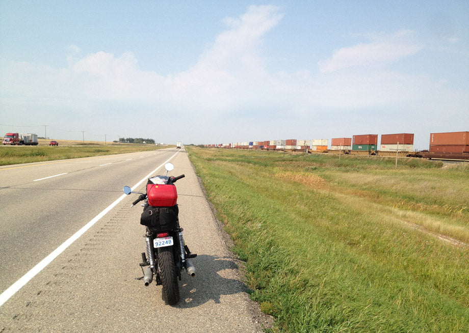 Motorcycle Ride Toronto to Vancouver - Town Moto - Riding across the Prairies