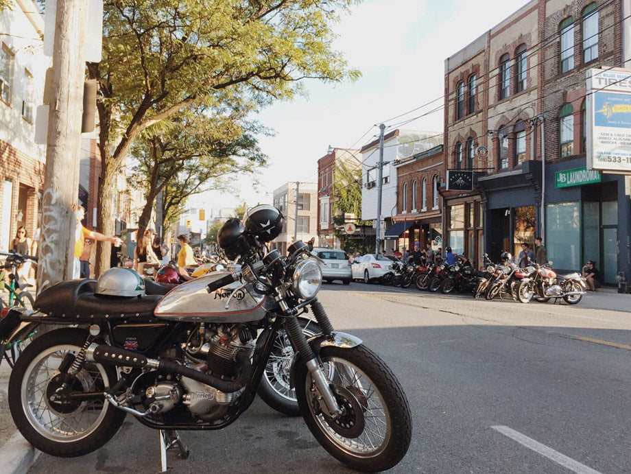 Town Moto turns 9, Ossington Ride in day