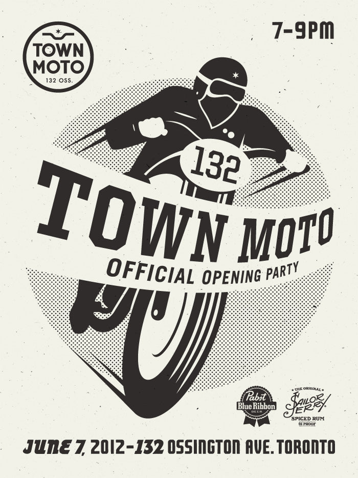 Town Moto - Official Opening Party