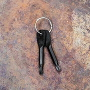 Mini Slotted & Phillips Screwdriver Keychain