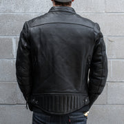 First MFG Top Performer Jacket, Black Leather, Alternate