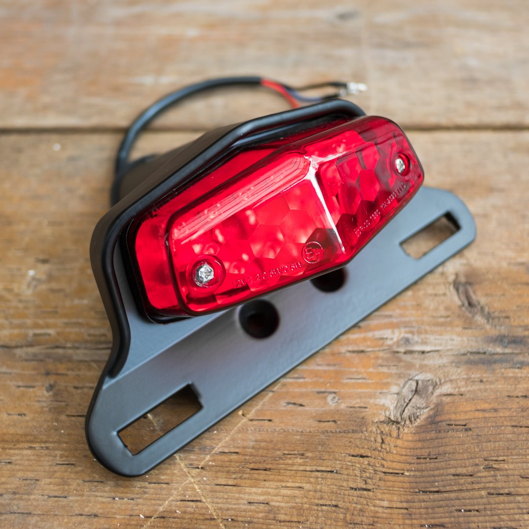 Lucas Style Led Tail Lights Town Moto
